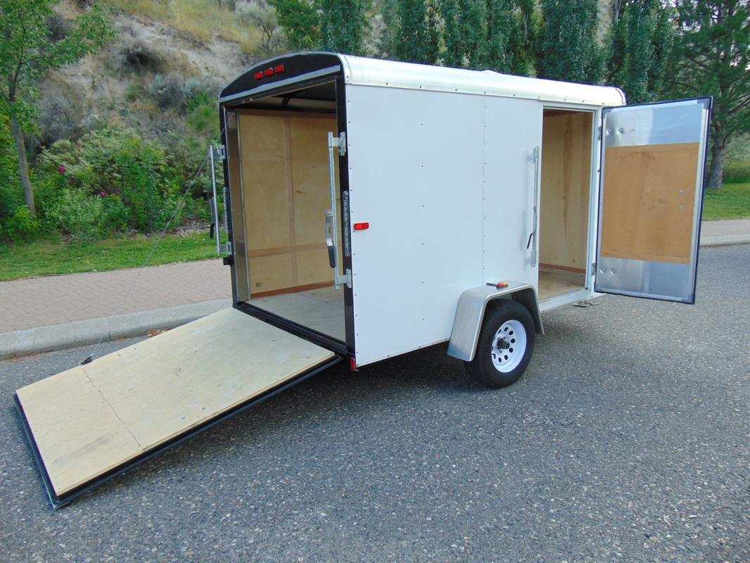 Covered Car Trailer Rental
